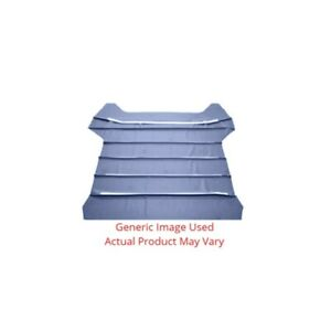 Headliner sunvisor Material For Automotive Car And Truck Medium Metallic Blue