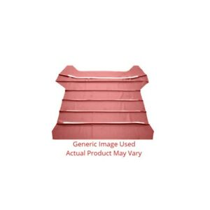 Headliner Sunvisor Material For Automotive Car Truck 2dr Medium Red