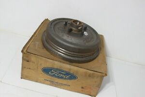 Original Nos 1969 Galaxie Ford Front Hub Drum Assembly Muscle Car Hot Rod