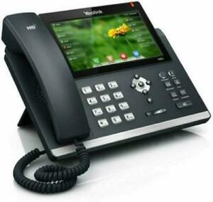 Yealink Sip t48s Ip Phone 16 Lines 7 inch Color Touch Screen Display