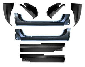 Inner Outer Rocker Panel Cab Corner Mount Kit For 73 87 Chevy Gmc Pickup