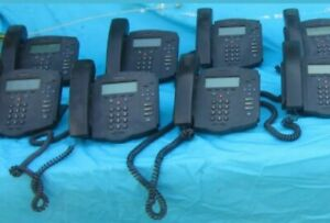 Lot Of 8 Polycom Soundpoint Ip 430 Sip430 Sip Phones Voip With Power Adapters