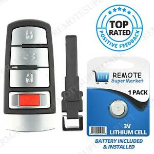 Replacement For 2006 2013 Volkswagen Passat Remote Car Key Fob Keyless Entry