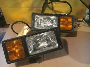 Fisher western Plow Lights Good Physical Shape 11 Pin 3 Plug For Parts