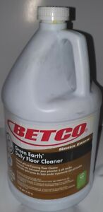 Betco 536 Green Earth Daily Floor Cleaner 1 Gal Yellow Qty 4