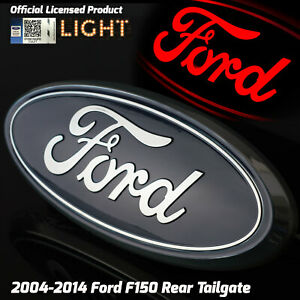 2004 2014 Ford F150 Truck Rear Tailgate 9 Emblem Licensed Led Light