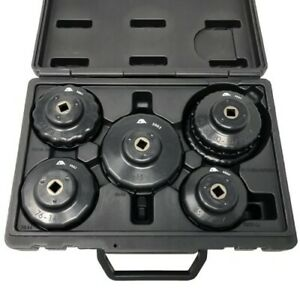 3865 5 Pc Oil Filter Cup Wrench Set