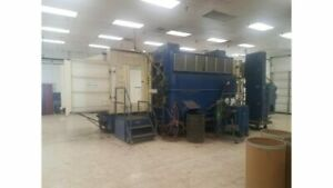 Nordson 524 Reclaim Powder Booth System 42 X 66 Opening Refurbished Warranty