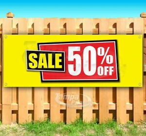 Sale 50 Off Advertising Vinyl Banner Flag Sign Many Sizes Usa Business Sale
