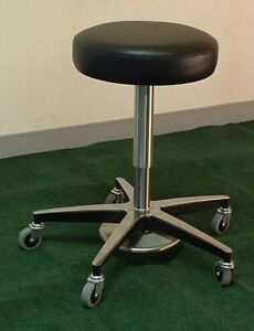 Foot Adjustable Medical Stool With Aluminum Base