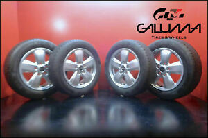 4 New Genuine Oem Mini Cooper Wheels 492 F56 175 65 15 Wheels Tires Genuine
