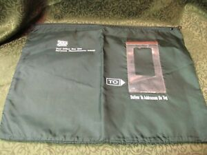 Factory Mutual System Vintage Mail Bag