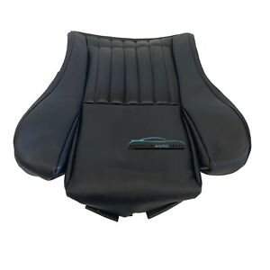 2002 Pontiac Firebird Trans Am Driver Bottom Synthetic Leather Seat Cover Black