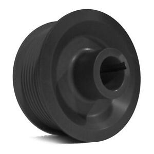 Vortech Pulley Supercharger 2 85 Diameter 8 Rib Black Anodized Each 2a038 285
