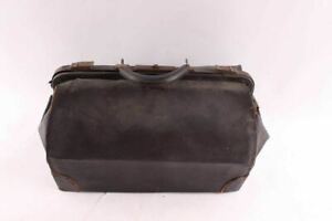 Rustic Antique Samson Luggage Leather Doctors Bag
