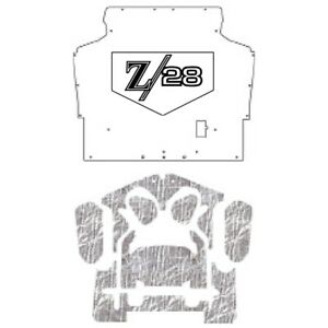 Hood Insulation Pad Heat Shield For 1970 1974 Chevrolet Camaro With G 024 Z 28