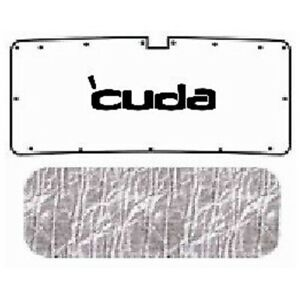 Trunk Lid Insulation Pad Cover For 70 74 Plymouth Hemicuda Under Trunk W Me 013