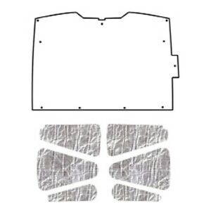 Hood Insulation Pad Heat Shield For 94 04 Chevrolet S 10 S 15 Under Cover Smooth