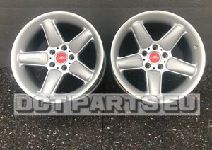 2 Oem Bmw Alloy Wheels 5x120 Ac Schnitzer Type 2 Deep Concave 10x18