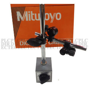 New Mitutoyo 7011s 10 Magnetic Stands For Dial Test Indicators Product Descript