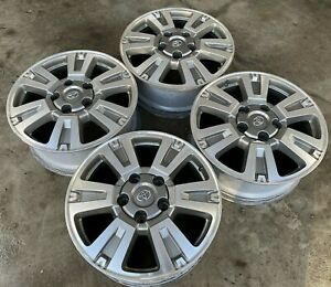 20 Toyota Tundra Limited 1794 Sequoia Trd Pro Oem Factory Stock Wheels Rims