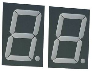 Large Seven Segment Display Tri color 2 3 Inch Digit pack Of 2