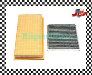 Engine And Charcoal Carbon Cabin Air Filter For 07 15 Mazda Cx 9 Ford Edge Mkx