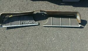 1961 Pontiac Front Grill Grille Pair Left Right Bonneville Catalina Ventura