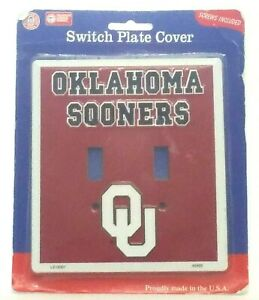Switch Plate Covers Football Teams Outlet Oklahoma Sooners Collegiate Product