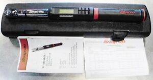 Snap on Atech2fr100b 3 8 Dr Electronic Flex Head Torque Wrench Case