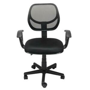 Jose Home Office Room Use Nylon Five star Feet Mesh Chair Black