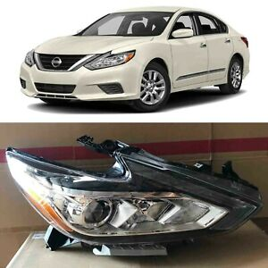 Headlight Replacement For 2016 2017 2018 Nissan Altima W o Led Passenger Right
