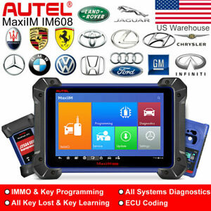 Autel Maxiim Im608 J2534 Ecu Programming Diagnostic Scan Tool As Maxisys Xp400