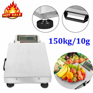 New Portable150kg Digital Shipping Postal Scale Electronic Weight Scales Us Plug