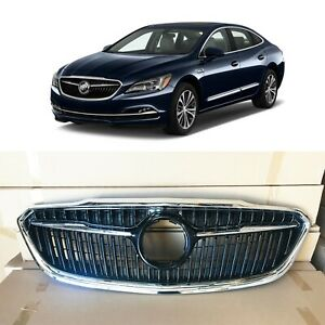 Chrome Replacement Grill Bumper Grille For 2017 2018 2019 Buick Lacrosse Factory