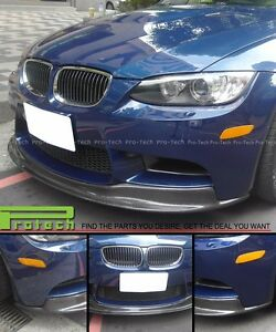Bmw 2008 2013 E92 E93 M3 Ak1 Type Carbon Fiber Front Bumper Add On Lip