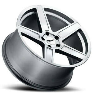 4 20 Tsw Wheels Ascent Matte Titanium Silver Rims b11