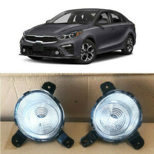 Daytime Running Lamp Fog Light For 2019 Kia Forte Right Left Passenger Driver