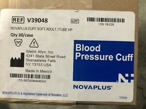 Welch Allyn Inc Novaplus Blood Pressure Cuff Adult 1 Tube Hp Lot Of 20 Cuffs