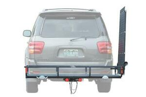 Trailer Hitch Cargo Carrier Ramp Gearcage use On Fold On Ramp 400 Pound Weight