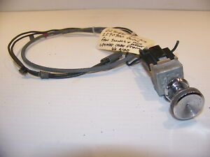 1966 Dodge A100 Fan Switch Heater Defrost Cable Oem 2290891 2290900