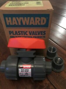 Hayward 1 2 Pvc True Union Ball Valve