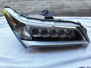 2014 2015 2016 Acura Mdx Headlight Left Driver Side Used Oem