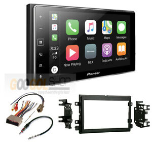 Pioneer Apple Carplay Double Din Radio Stereo Dash Kit For 2004 2008 Ford F 150