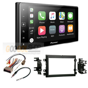 Pioneer Apple Carplay Double Din Radio Stereo Dash Kit For 2005 09 Ford Mustang