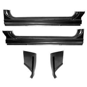 Oe Style Rocker Panel Cab Corner Kit For 60 66 Chevy Gmc Ck Pickup Truck