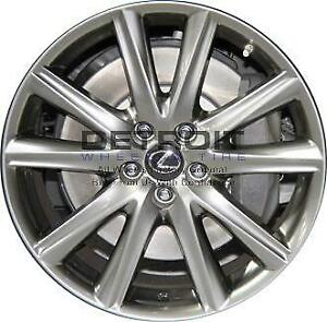 19 Lexus Gs350 Wheel Rim Factory Oem 74296 2013 2019 Hyper Grey