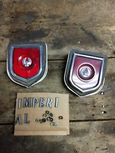 1972 73 74 75 Chrysler Imperial Red Quarter Marker Light Assy Lebaron 3479151