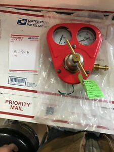 Smith Equipment Cylinder Regulator W gauge Guard Hb1521b 540 Refurbished