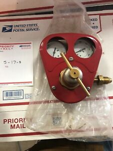 Smith Equipment Cylinder Regulator W gauge Guard Hb1521b 510 Refurbished